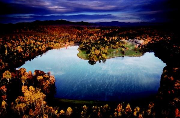 Derbyshire Aerial Lake