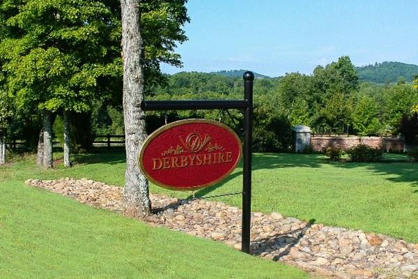 Derbyshire Sign at Entrance